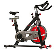 Sunny Health & Fitness SF-B1002 Belt Drive Indoor Cycling Bike - F231945