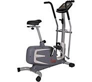 Sunny Health & Fitness Cross Training MagneticUpright Bike - F250045