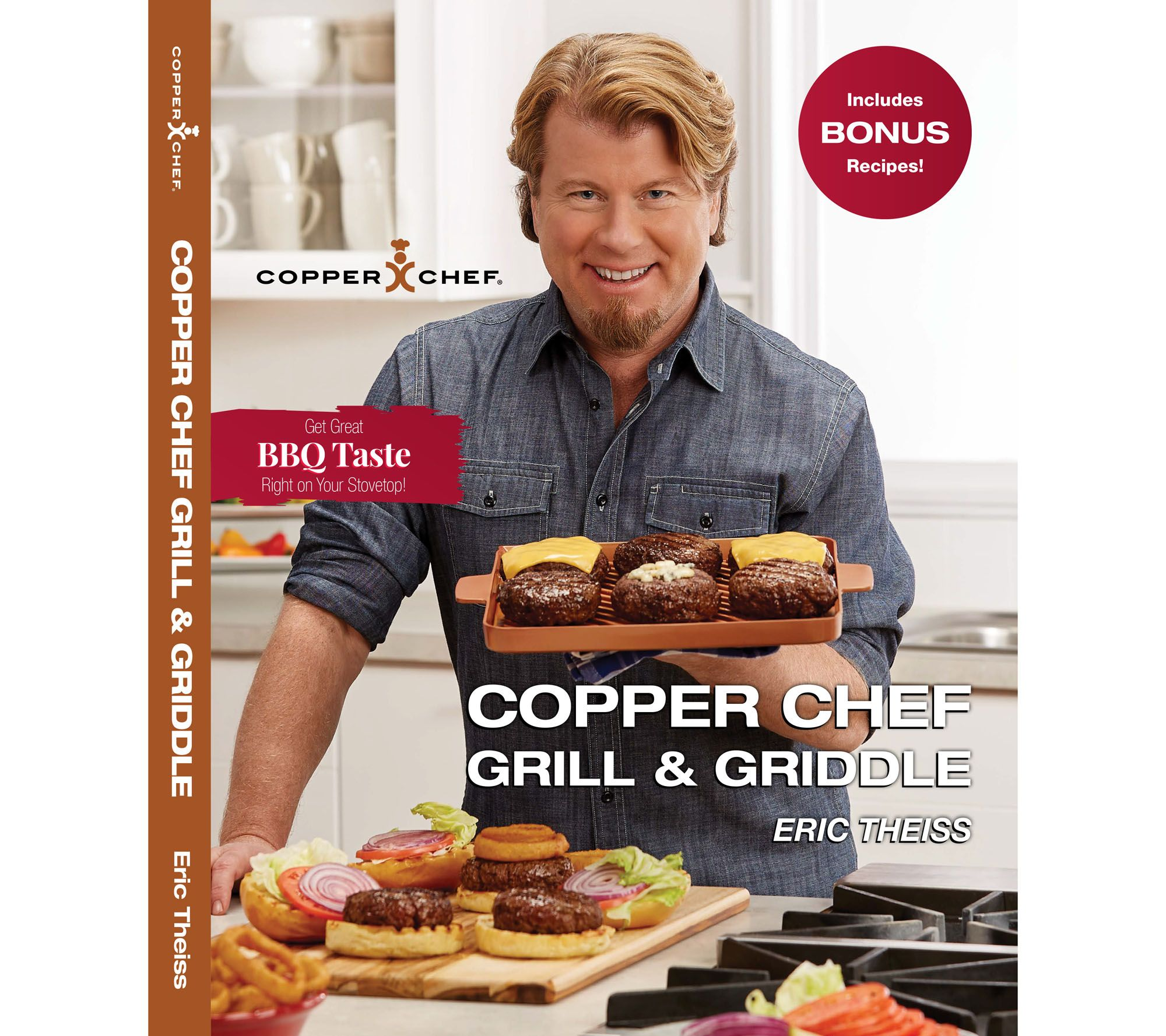 Copper Chef Grill And Griddle Cookbook By Eric Theiss Page 1