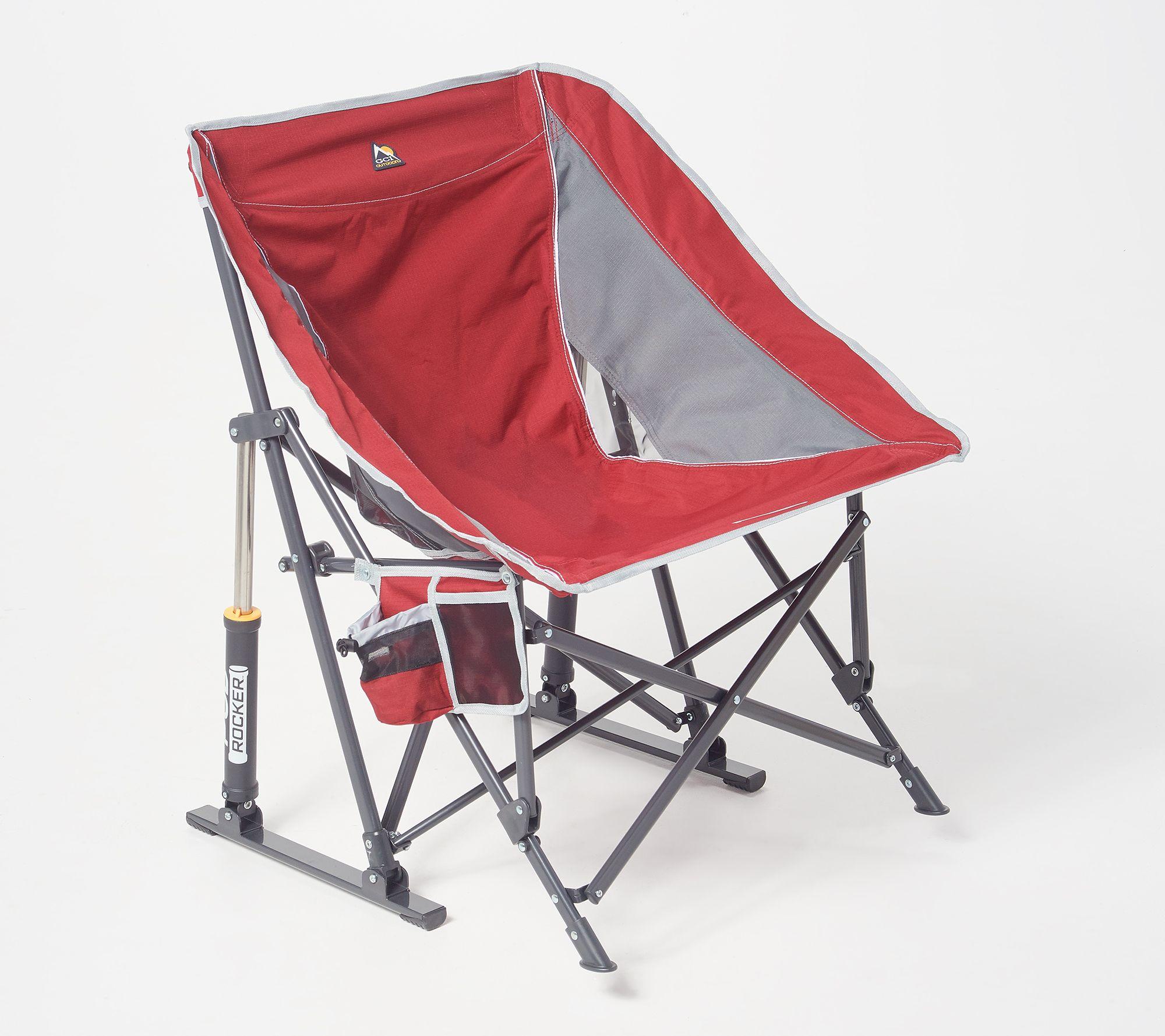 Pleasant Gci Outdoor Pod Pro Rocker Chair With Carry Bag Qvc Com Uwap Interior Chair Design Uwaporg