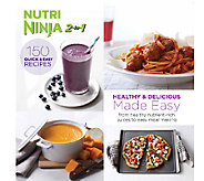 Nutri Ninja 2-in-1 Healthy & Delicious Recipes Made Easy Cookbook - F11850