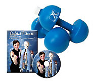 Mirabai Holland Skeletal Fitness DVD & Hand Weights - F247452