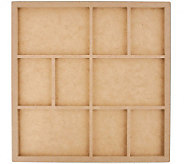 Beyond the Page MDF 9-Frame Photo Display - F244955