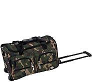 Fox Luggage 22 Rolling Duffel Bag - F249058