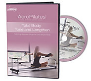AeroPilates Total Body Tone and Lengthen DVD - F249460