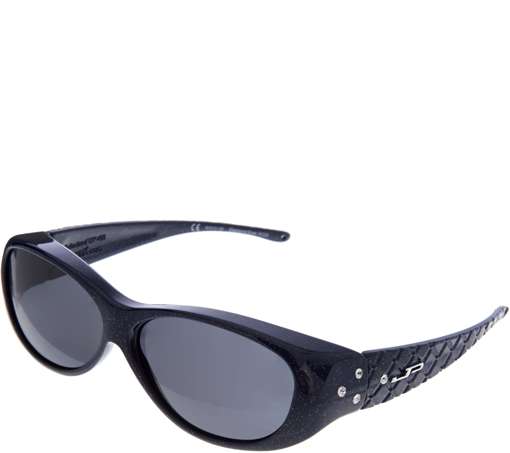 67b2690820b21 Jonathan Paul Diamond Dust Fitover Sunglasses with SwarovskiAccent - Page 1  — QVC.com