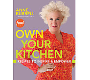 Own Your Kitchen Cookbook by Anne Burrell & Suzanne Lenzer - F11263