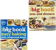 Betty Crocker Big Book of Baking & One Pot 2 Cookbook Set - F12064