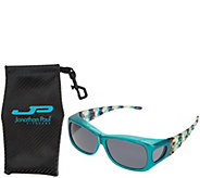 Jonathan Paul Diamond Cut FitOvers Sunglasses with Case - F13064