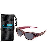 Jonathan Paul Retro Cat Fitover Sunglasses with Case - F13065