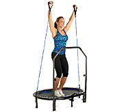 Stamina InTone Oval Jogger Trampoline and DVD - F248765
