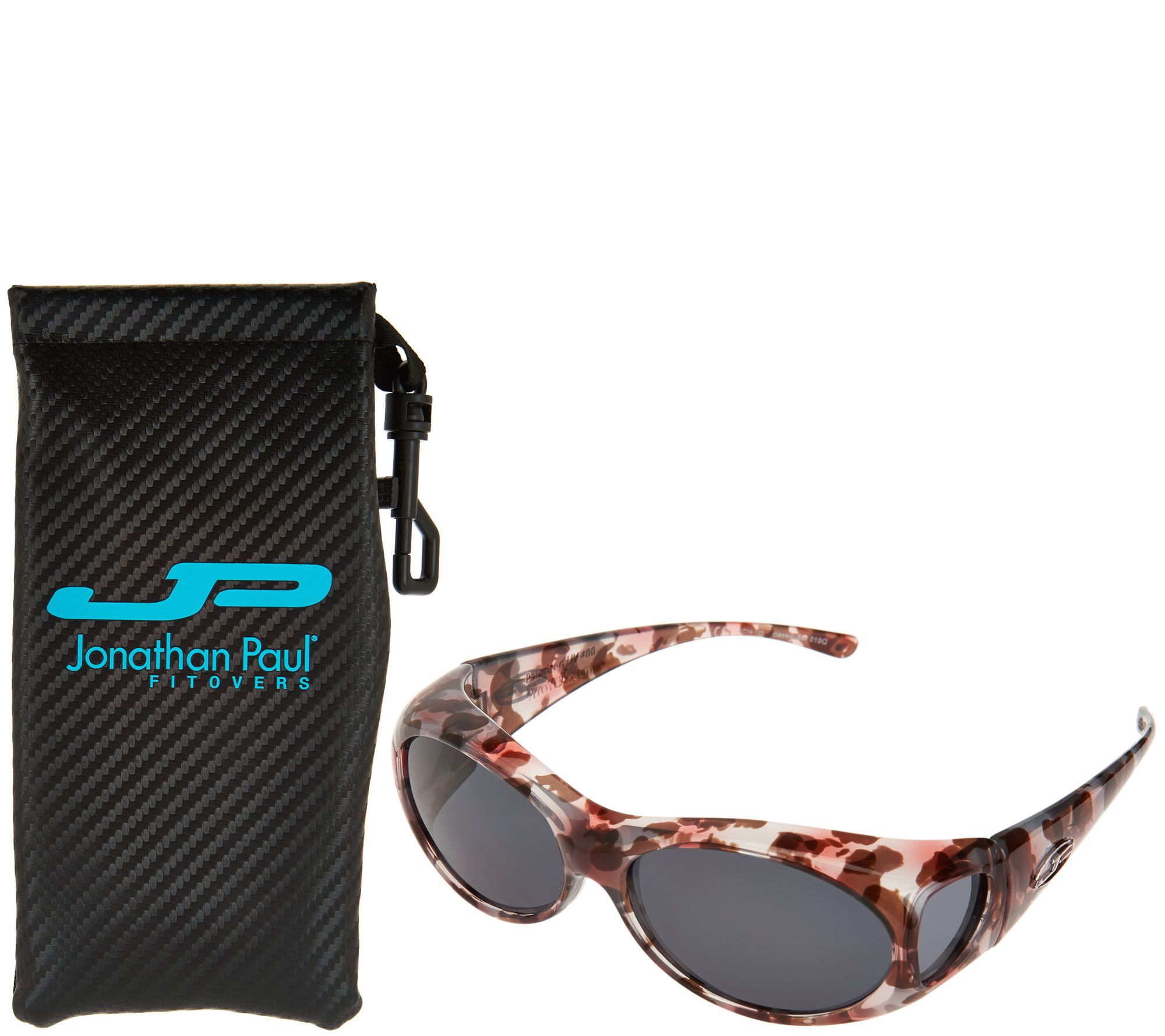 a1f6bab83f667 Jonathan Paul Classic Fitover Sunglasses with PolarVue Lenses and Case -  Page 1 — QVC.com