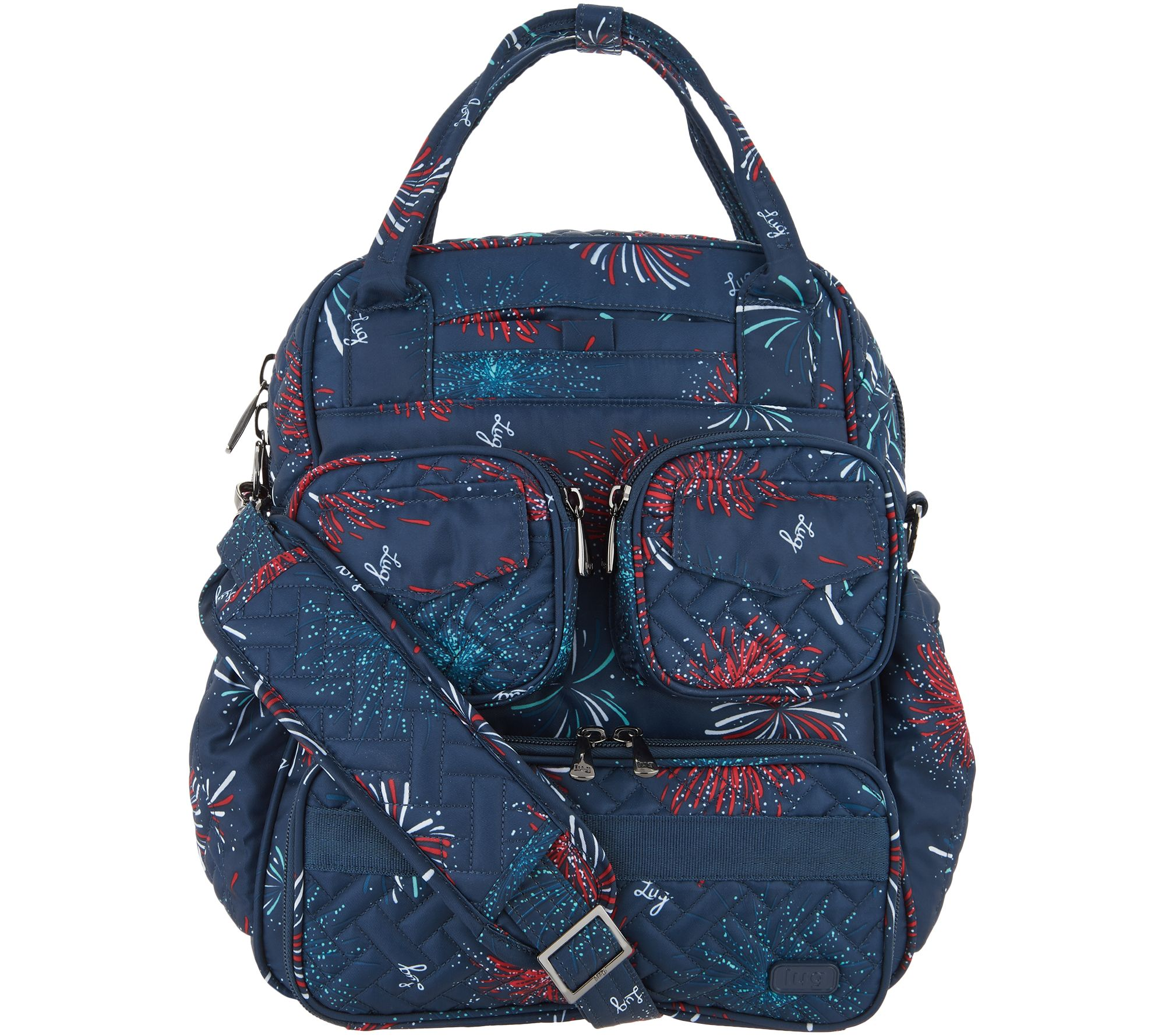 Lug Quilted Day Bag - Mini Puddle Jumper 2 - Page 1 — QVC.com cdab32a8552f2
