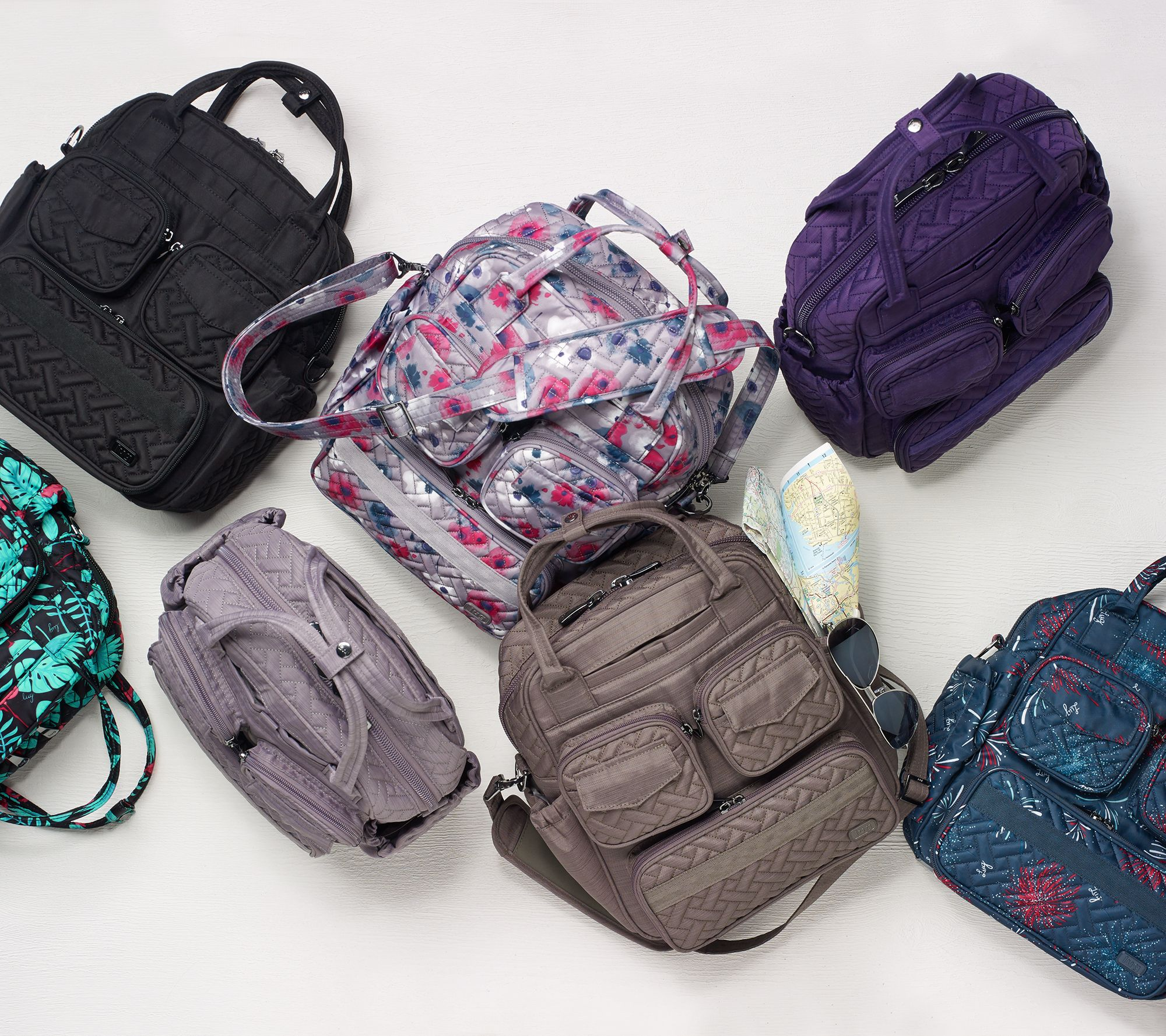 df67e2be6773 Lug Quilted Day Bag - Mini Puddle Jumper 2 — QVC.com