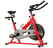 Sunny Health & Fitness Red Indoor Cycling Bike - F248967