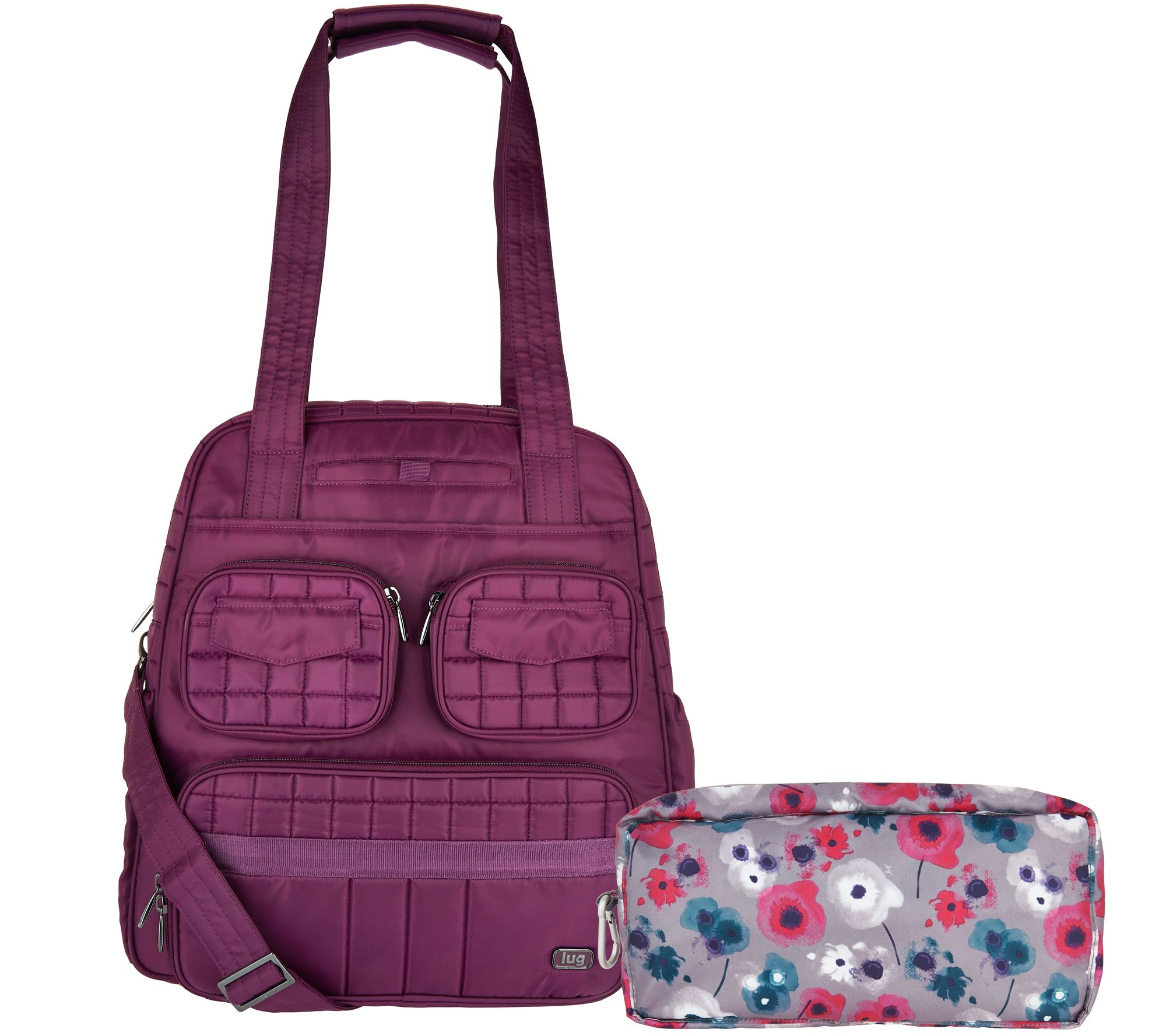 a32a04ec4 Lug Puddle Jumper Travel Bag with Packable Carry-All - Page 1 — QVC.com