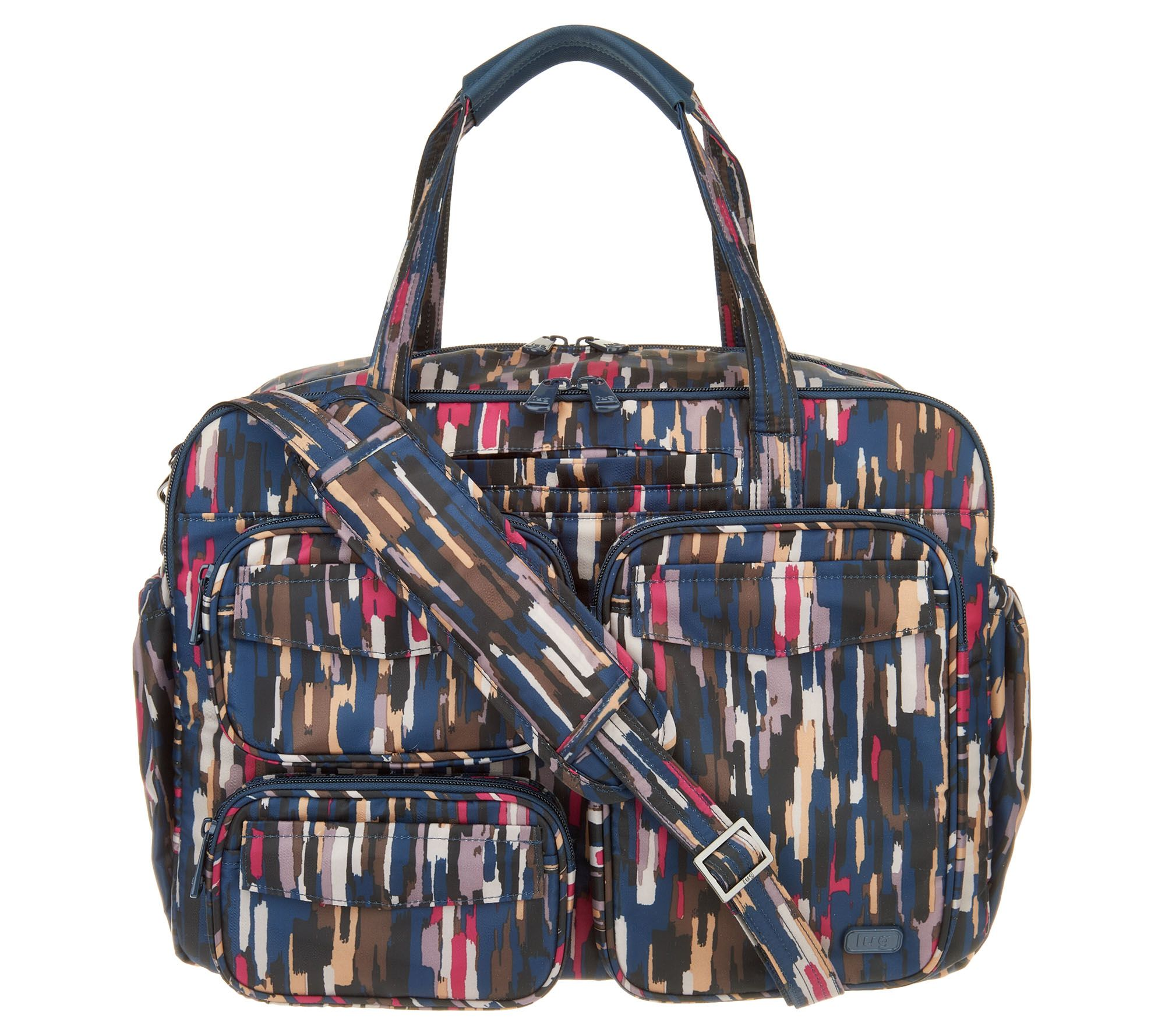 7a5acd158 Lug East/West Puddle Jumper Duffel Bag - Page 1 — QVC.com