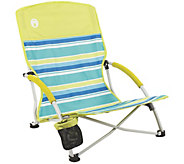 Coleman Utopia Breeze Beach Sling Chair with Cup Holder - F232074