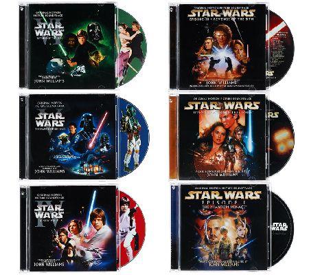 star wars the complete saga soundtrack cd bundle - page 1