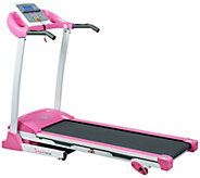 Sunny Health & Fitness P8700 Pink Treadmill - F249576