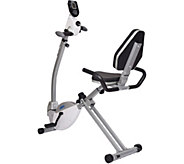 Stamina Recumbent Exercise Bike with Upper BodyExerciser - F249676