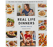Real Life Dinners Cookbook by Rachel Hollis - F13378