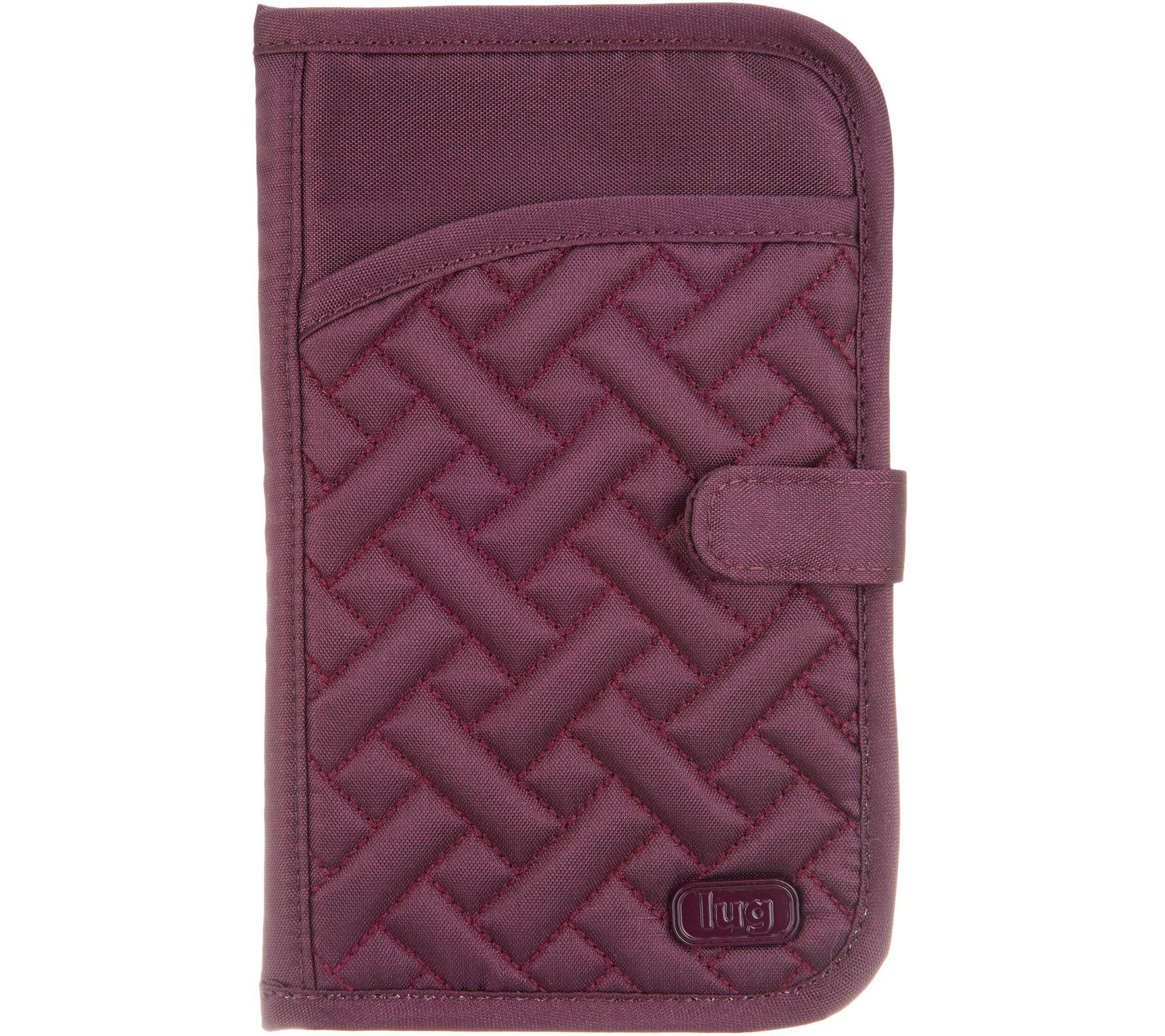6d8abd33ed86 Lug North/South RFID Wallet - Tandem Snap - Page 1 — QVC.com
