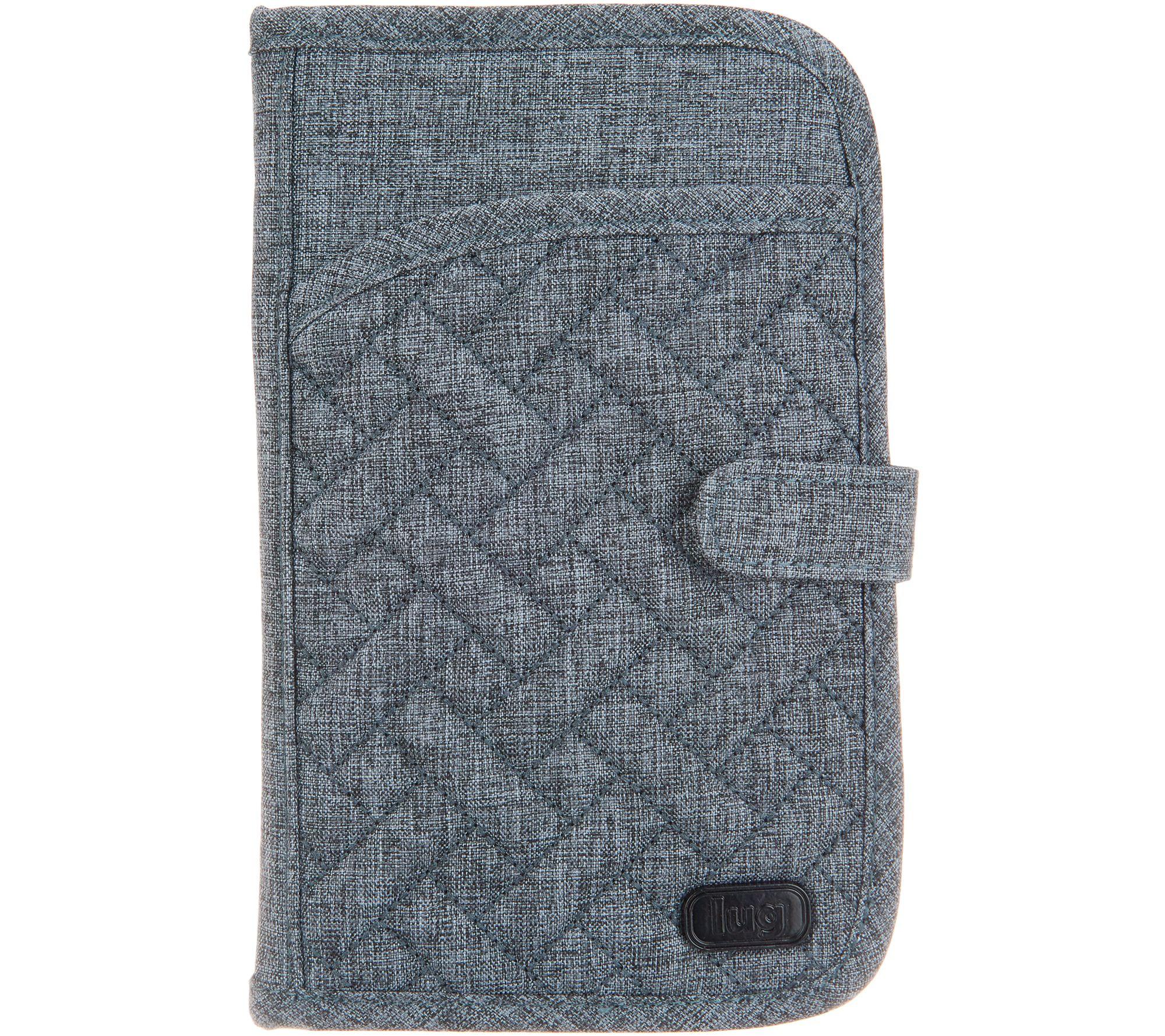 3007c3d0bac2 Lug North/South RFID Wallet - Tandem Snap — QVC.com