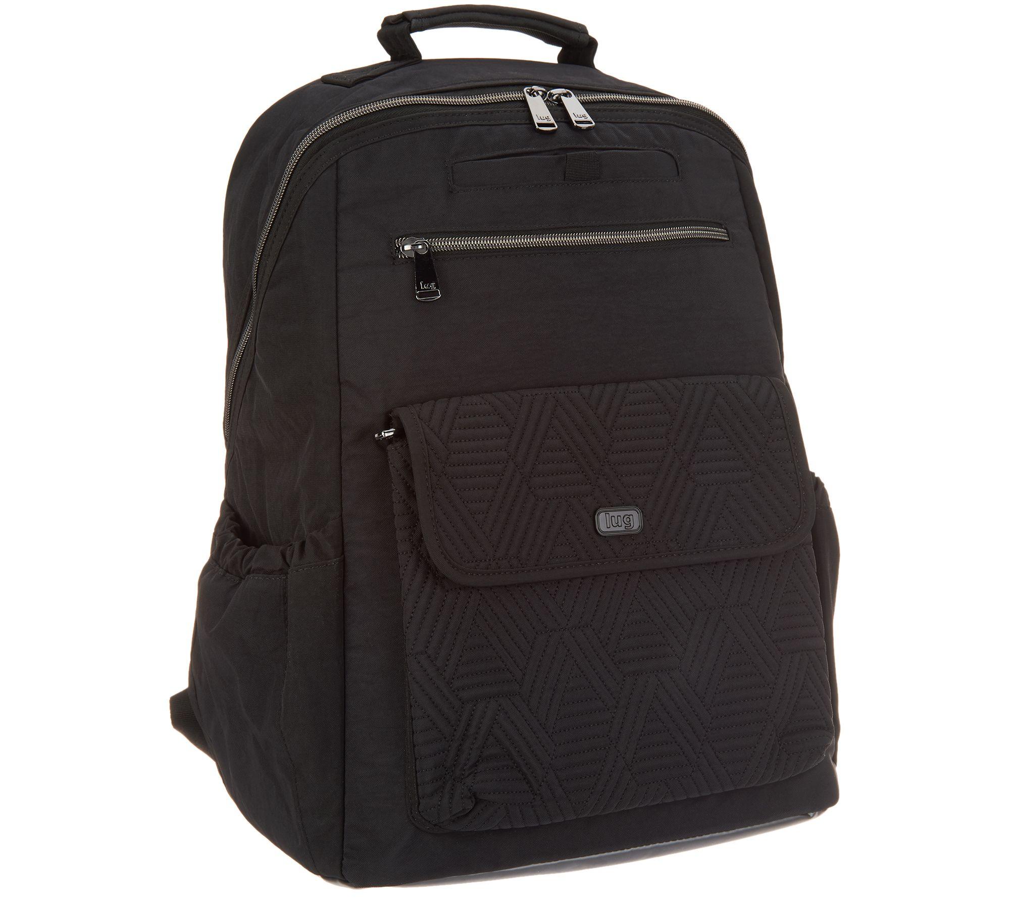 16f17c5fd0 Lug Medium Backpack with RFID - Tumbler - Page 1 — QVC.com