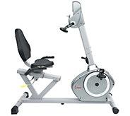 Sunny Health & Fitness Recumbent Bike with ArmExerciser - F249779