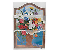 Tatouage Window Scene Wall Mural Rub-ons - F02280