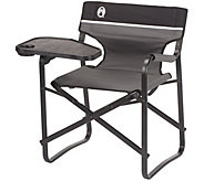 Coleman Aluminum Deck Chair with Swivel Table &Drink Holder - F232080