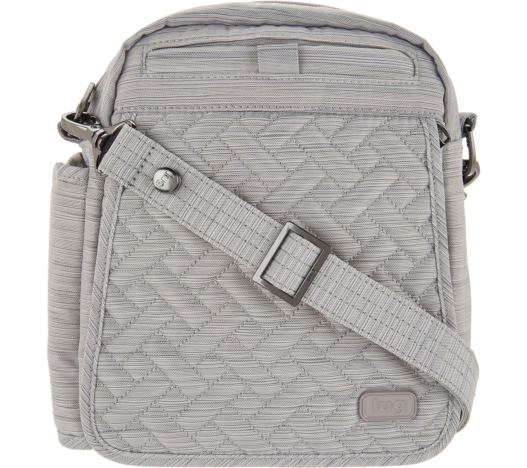 ad4809afae9 Lug RFID Convertible Crossbody Bag w  Bonus Strap - Flapper - Page 1 —  QVC.com