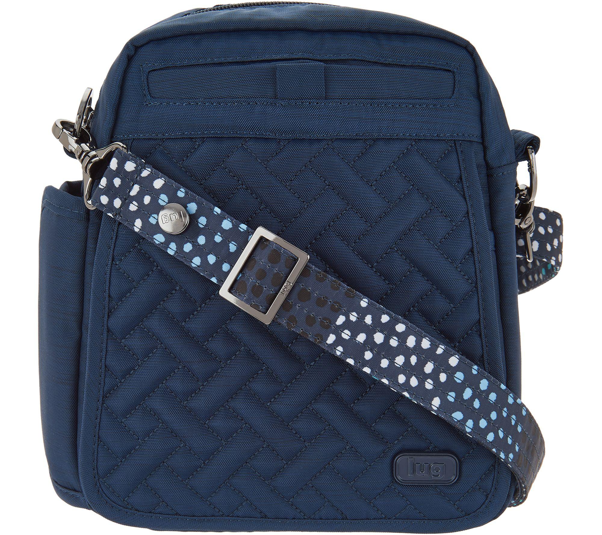 ca16cb0035 Lug RFID Convertible Crossbody Bag w  Bonus Strap - Flapper - Page 1 —  QVC.com