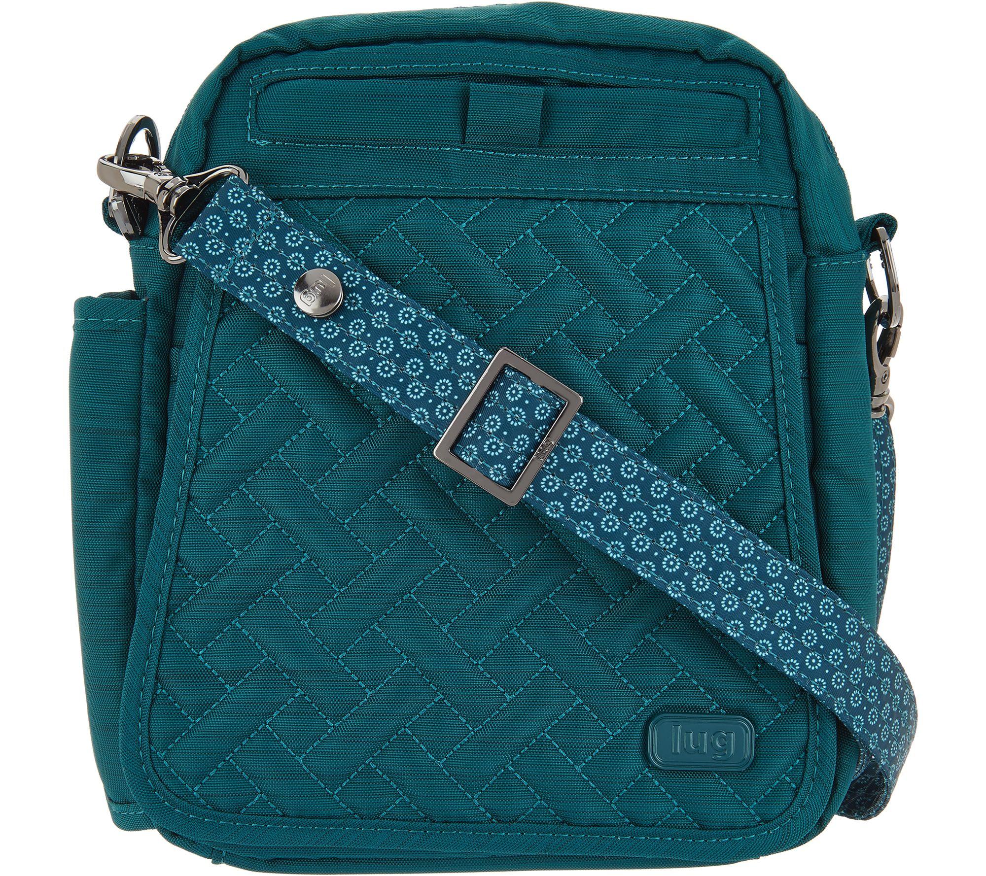 e8f63a25258b Lug RFID Convertible Crossbody Bag w  Bonus Strap - Flapper - Page 1 ...