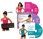 Total Gym Fitspiration Guide with Rosalie Brown, 3 DVDs - F248881