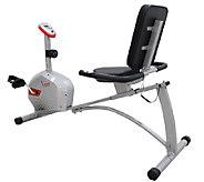 Sunny Health & Fitness Magnetic Recumbent Bike - F248985