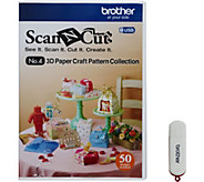 Brother ScanNCut 3D Paper Craft USB - F250287