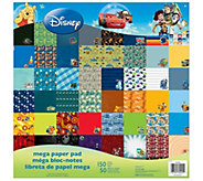 Disney Mega Paper Pad - Boy Designs - F250688