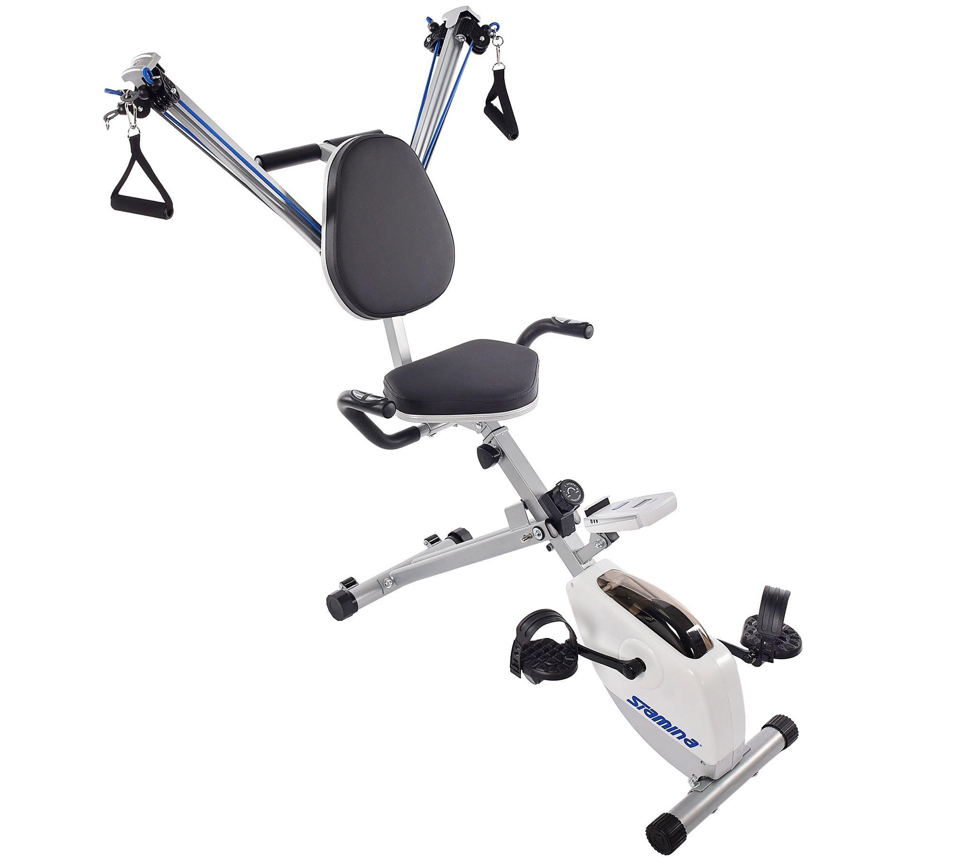 Stamina Exercise Bike And Strength System — QVC com