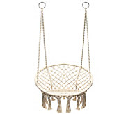 Sorbus Hanging Rope Chair - F232092
