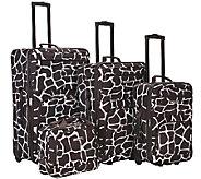 Fox Luggage 4pc Luggage Set - F249094