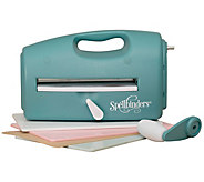 Spellbinders Teal Grand Calibur Cut & EmbossingMachine - F250295