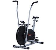 Sunny Health & Fitness Air Resistance Hybrid Bike - F250397