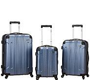 Fox Luggage 3pc Sonic ABS Upright Luggage Set - F249098