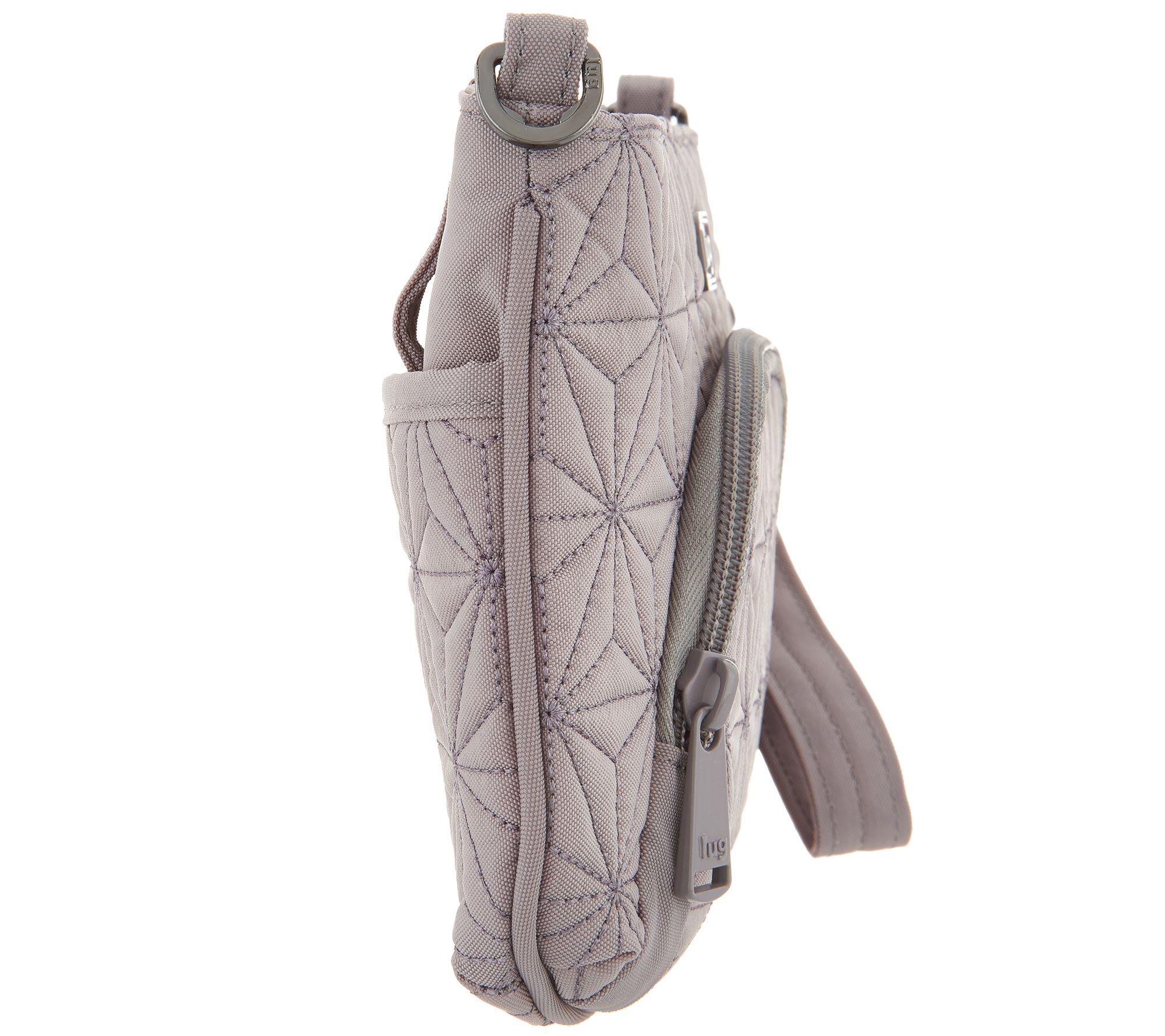 679330c50 Lug Mini RFID Convertible Crossbody Bag - Flyer - Page 1 — QVC.com