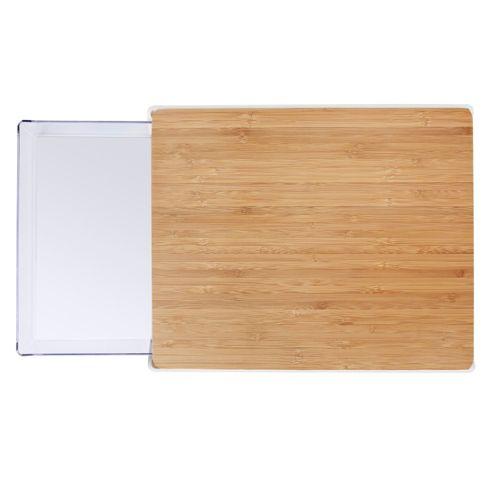 vacuvin planche d couper avec bac de r cup ration qvc france. Black Bedroom Furniture Sets. Home Design Ideas