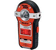 Black & Decker Bullseye Auto Leveling Laser w/Stud Sensor - H281400