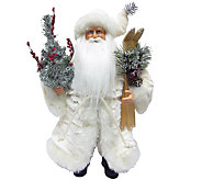 15-1/2 Winter White Santa by Santas Workshop - H289000