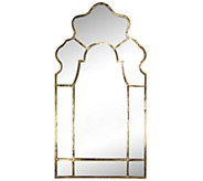 54-1/2 Timeless Garden Mirror with Goldtone Frame by Valerie - H290000